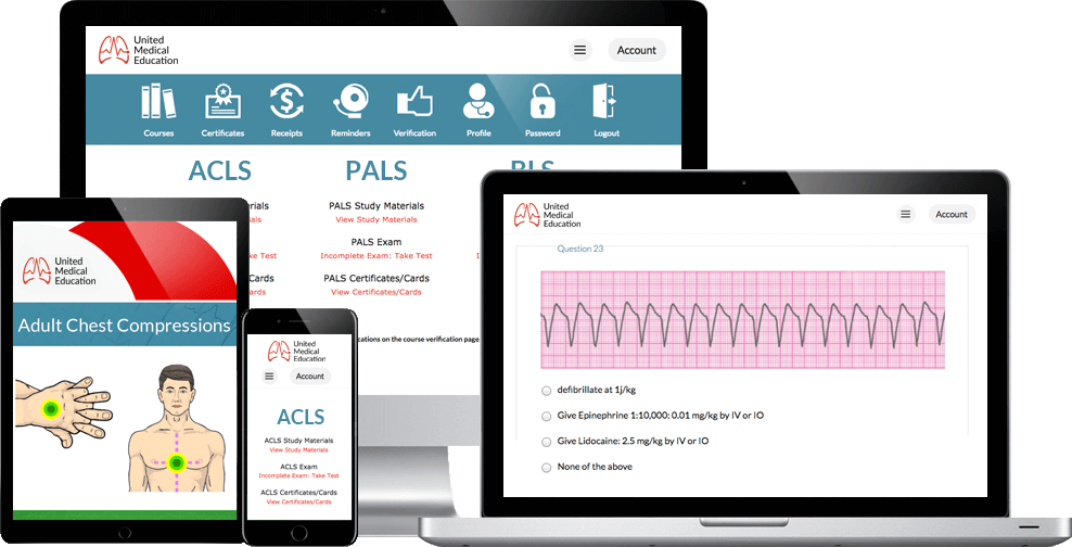 ACLS Certification - 100% Online
