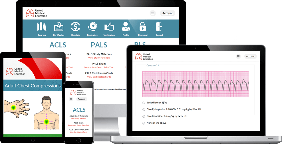 acls certification online banner