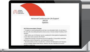 ACLS Online Update