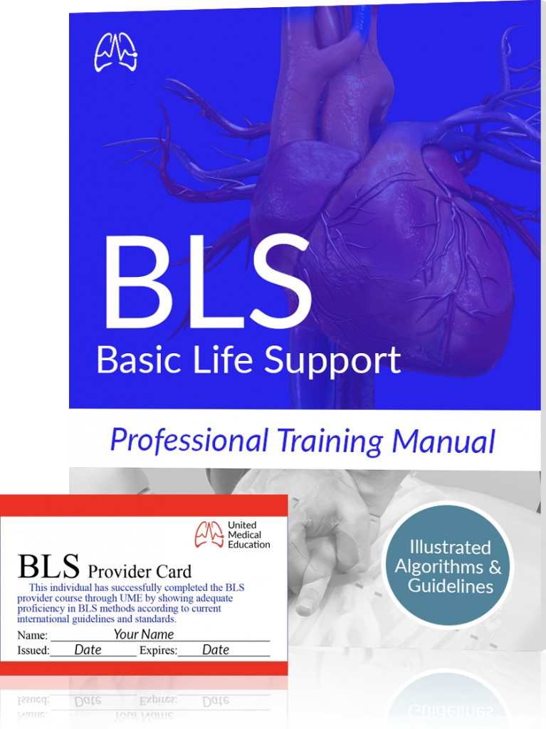 bcls certification manual and card