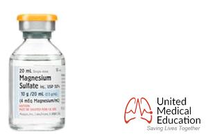 magnesium sulfate vial